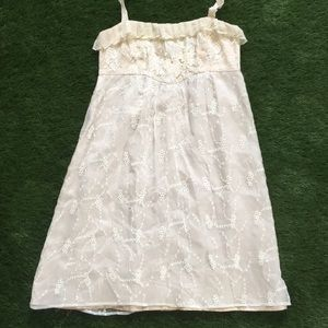 Left of Center Anthropologie Lace Dress